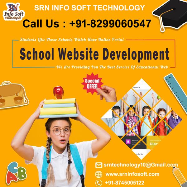 School Website Design & Developments @ 4,999/-