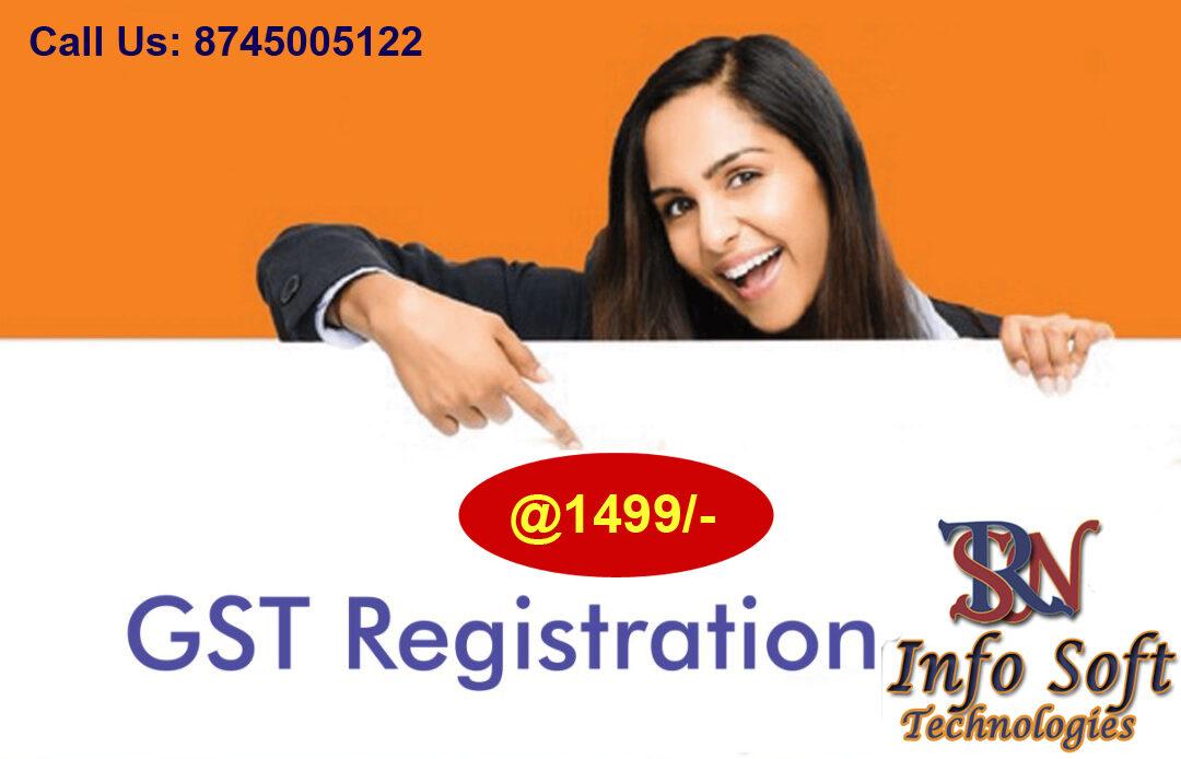 gst resgistration srn info soft technology