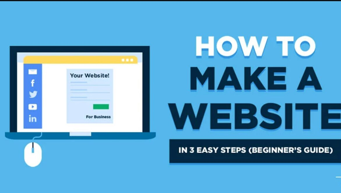 How to create a website. Learn in 10 minutes