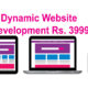 Dynamic Website development Rs. 3999